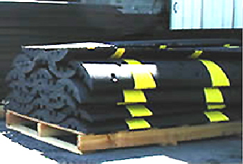 speed bumps speed humps wheel stops car stops wheel chocks - Rubber Speed Bumps